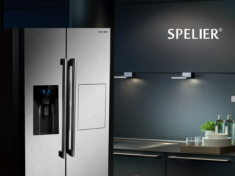 Tủ lạnh Spelier SP 535BCD