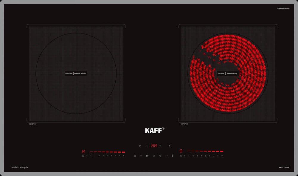 Vì sao bếp từ KAFF KF FL 7008IH vừa ra mắt đã được đón nhận nồng nhiệt?